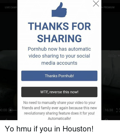 Porn Hub Live Account