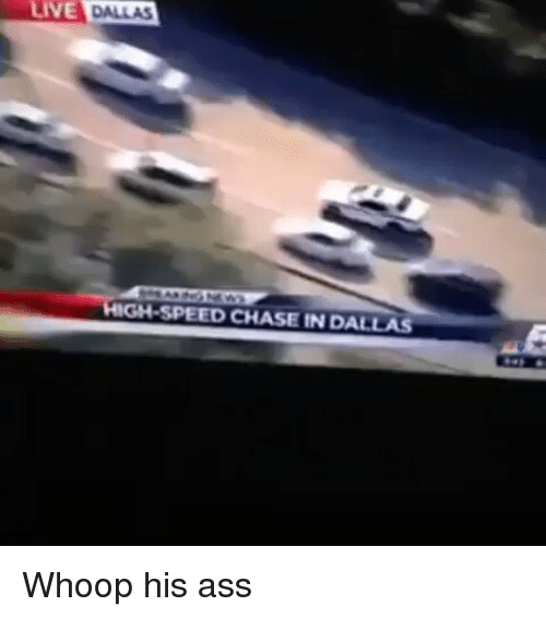 LIVE HIGH-SPEED CHASE IN DALLAS Whoop His Ass | Meme on ME ME