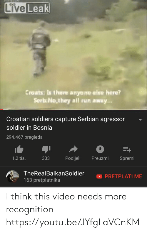 Live Leak Croats Is There Anyane Else Here? SerbNothey All Run Away