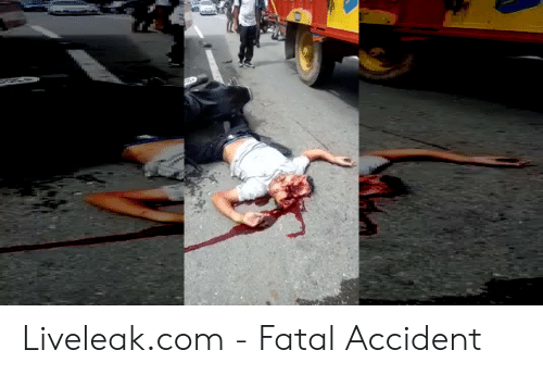 Liveleakcom - Fatal Accident | Liveleak Meme on ME ME