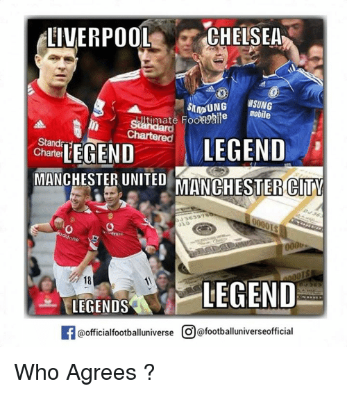 Real Madrid Legends 4 2 Liverpool Legends Tale Of Two: 25+ Best Memes About Liverpool Chelsea