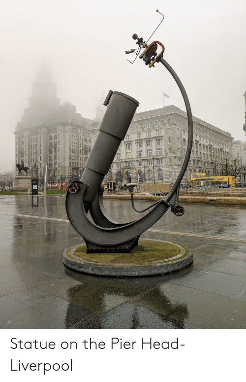 Head, Liverpool F.C., and Then: Liverpool  RET  THEN  e Statue on the Pier Head- Liverpool