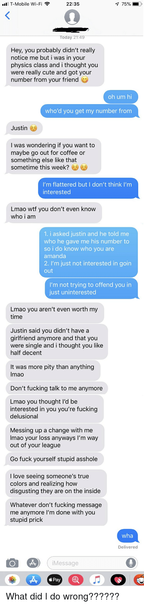 he gave me his number is he interested