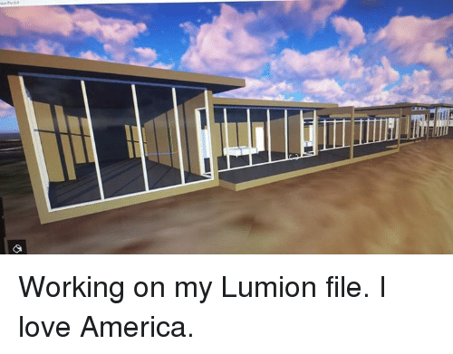 Lllllimim All Working on My Lumion File I Love America | America