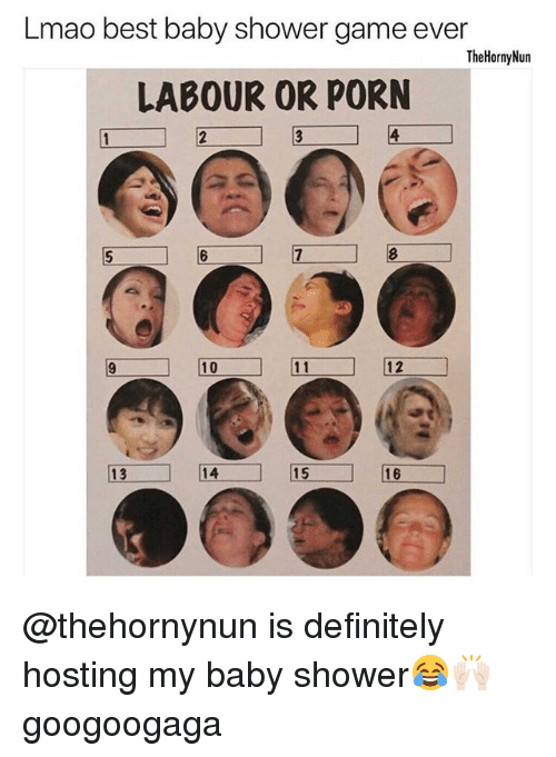 Lmao Best Baby Shower Game Ever Thehornynun Labour Or Porn -5462