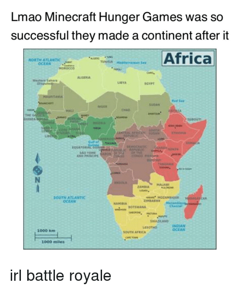 Lmao minecraft hunger games was so successful they made a continent africa the hunger games and lmao lmao minecraft hunger games was so successful publicscrutiny Choice Image