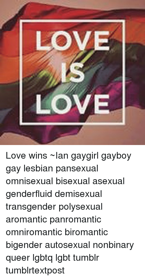 Bisexual pansexual omnisexual
