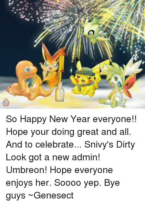 Lo So Happy New Year Everyone!! Hope Your Doing Great and All and to ...