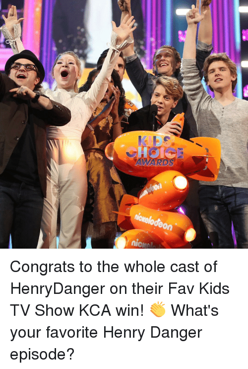 Lodeon Nice 033 8 Congrats To The Whole Cast Of Henrydanger On