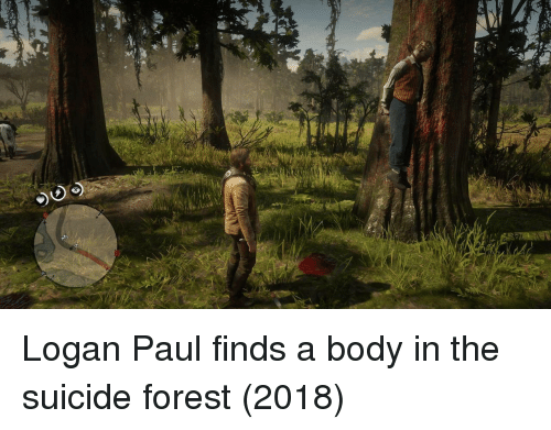 Suicide, Forest, and Paul: Logan Paul finds a body in the suicide forest (2018)