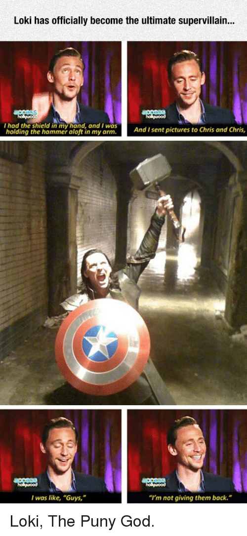 Loki Has Officially Become the Ultimate Supervillain I Had