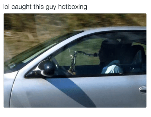 Memes Hotbox and Hotboxing lol caught this guy hotboxing  sc 1 st  Me.me & ? 25+ Best Memes About Hotboxing | Hotboxing Memes