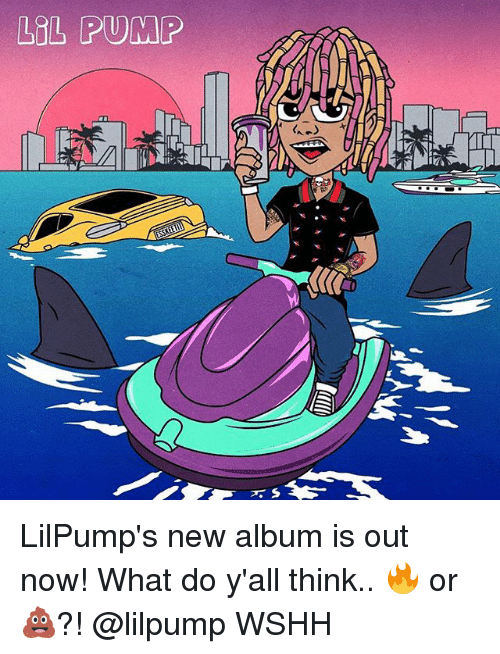 Lol, Memes, and Wshh: LOL PUMP LilPump's new album is out now! What do y'all think.. 🔥 or 💩?! @lilpump WSHH