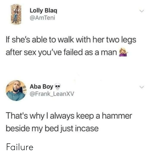 Lolly Blaq if She's Able to Walk With Her Two Legs After Sex You've