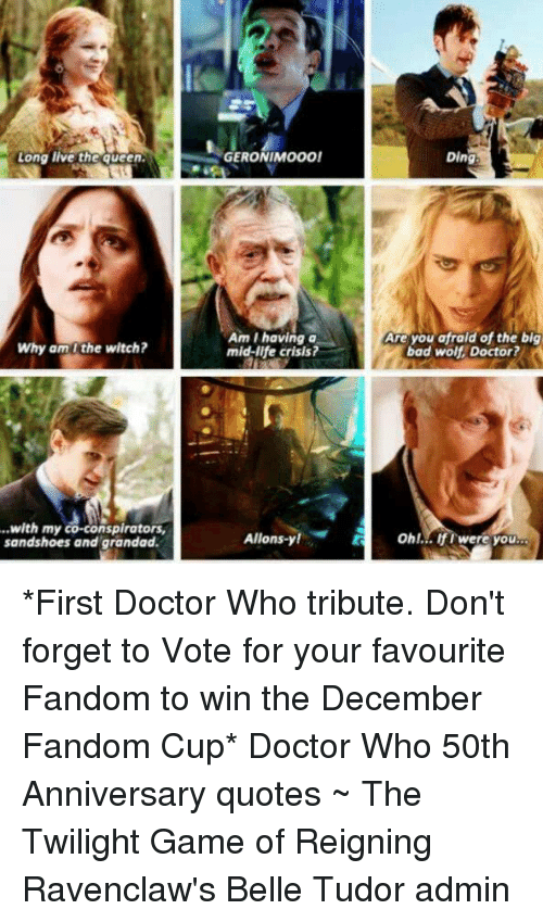 how long is the doctor who 50th anniversary