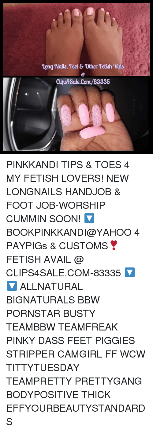 Long Nails Feet  Other Fetish Vida Cinsiksalecom83335 Pinkkandi Tips  Toes 4 My -1895
