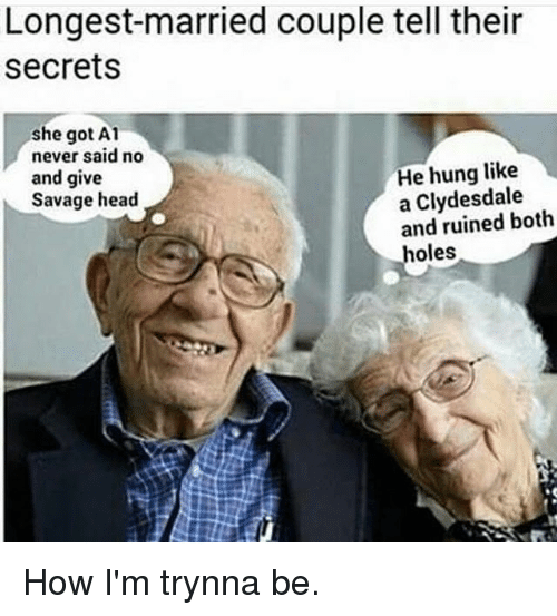 longest married couple tell their secrets she got a1 never 20558079 ✅ 25 best memes about married couple married couple memes
