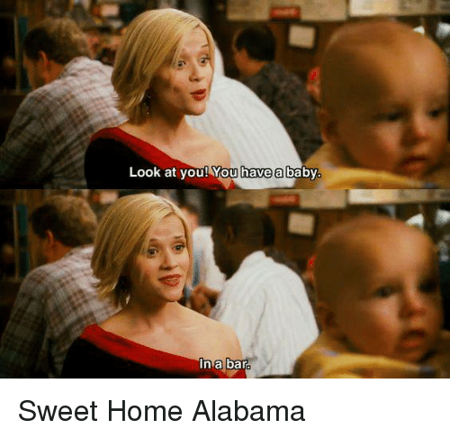 Image result for images baby in a bar sweet home alabama