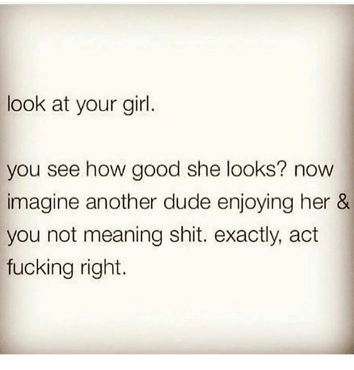 your girl meaning