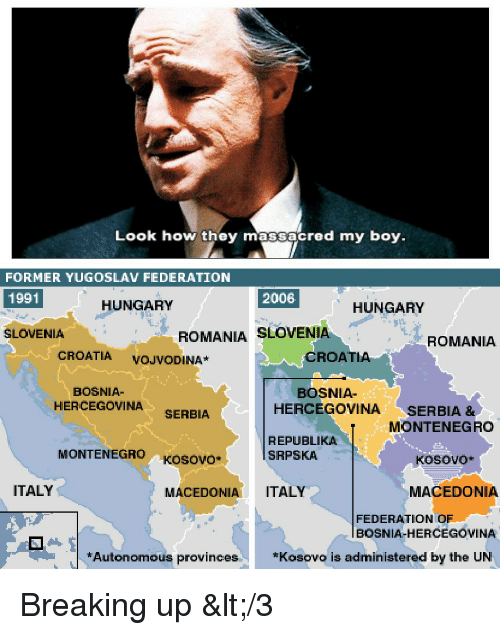 Croatia History And Bosnia Look How They Massacred My Boy FORMER YUGOSLAV