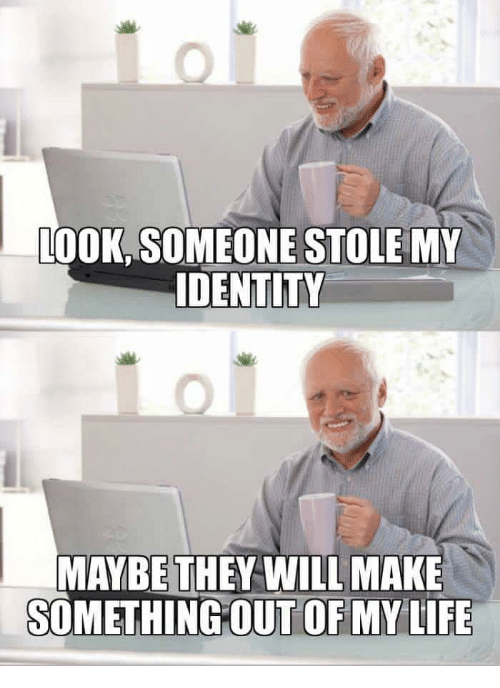 how to find out if someone stole my identity