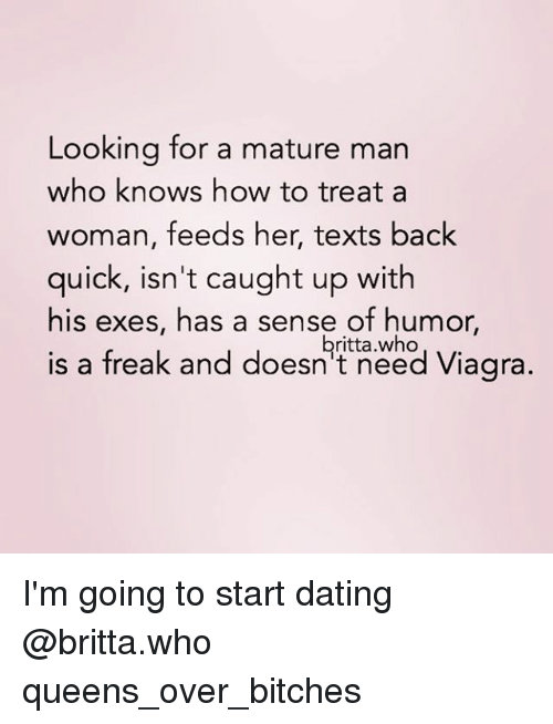 how to know youre dating a mature woman