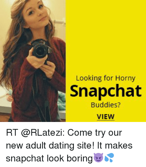 Dating sites snapchat