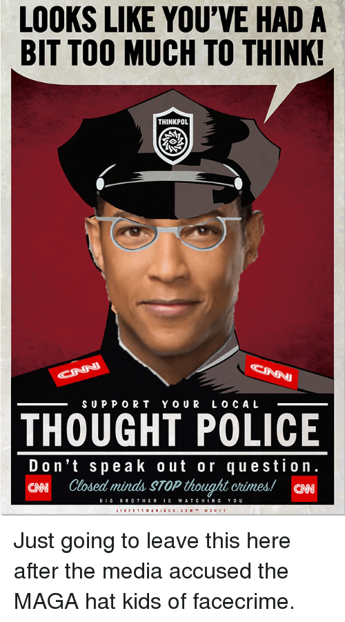 d0f23c38248 LOOKS LIKE YOU VE HAD a BIT TOO MUCH TO THINK! THINKPOL SUPPORT YOUR ...