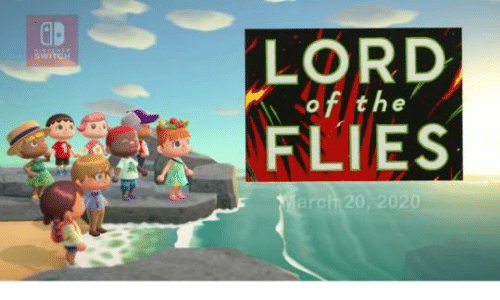 Witch, Lord of the Flies, and Lord: LORD  of the  FLIES  WITCH  March 20, 2020