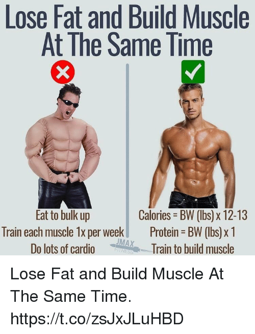 Burn fat and build muscle protein