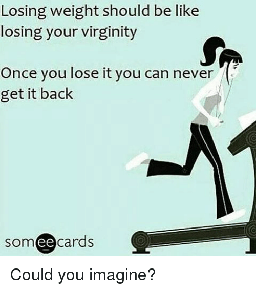 You lossing your virginity says reply