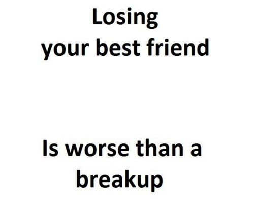 how to get over a best friend break up