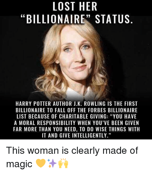 lost her billionaire status harry potter author j k rowling is 4527077 ✅ 25 best memes about best song best song memes