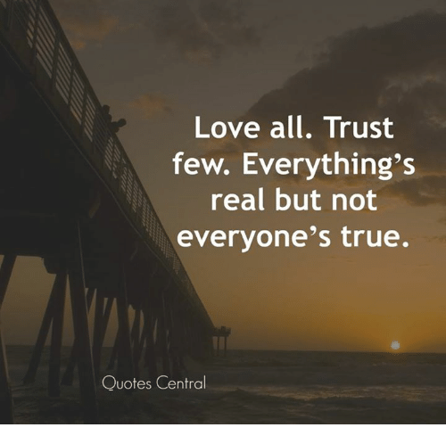 genuine and subsisting relationship trust