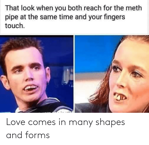 Love, Reddit, and Shapes: Love comes in many shapes and forms