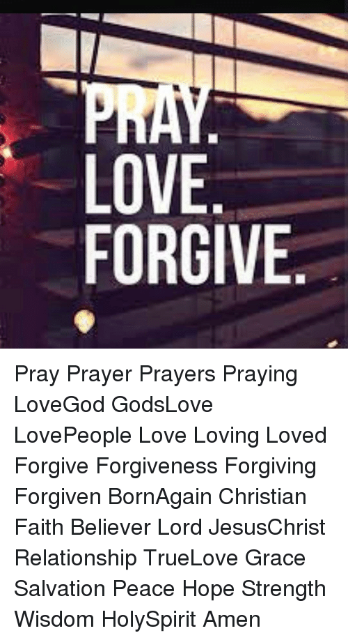 Christian prayers for love and relationships