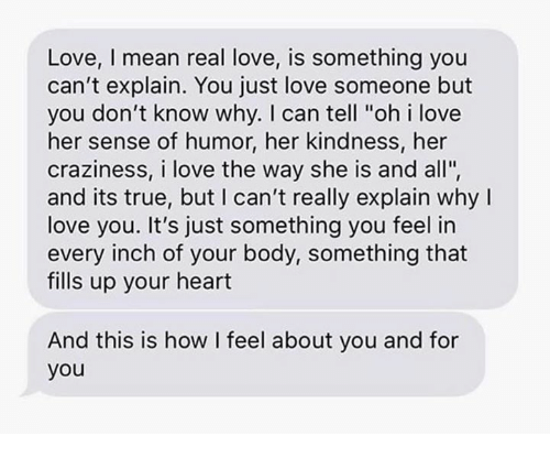 how can you explain love