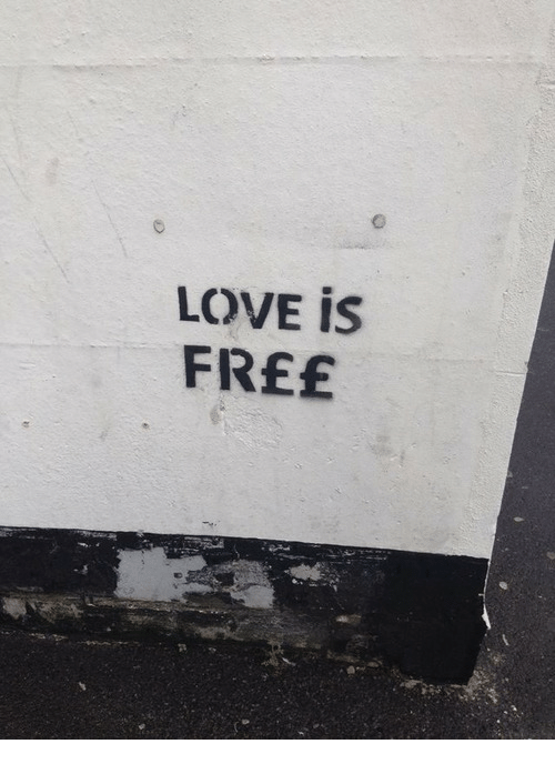 Love, Free, and Love Is: LOVE İS  FREE