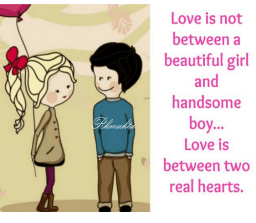 love between boy and girl