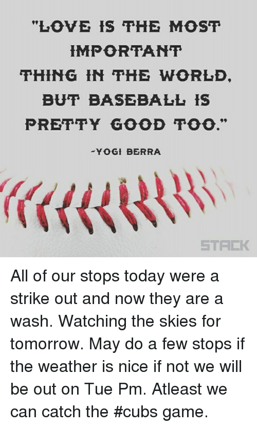 LOVE IS THE MOST HMPORTANT THING IN THE WORLD BUT BASEBALL IS PRETTY - But portant