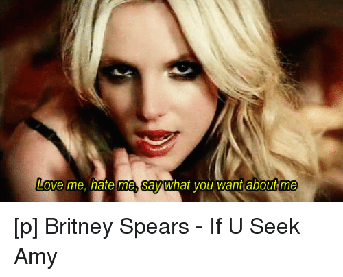 Britney spears love lyrics love interests
