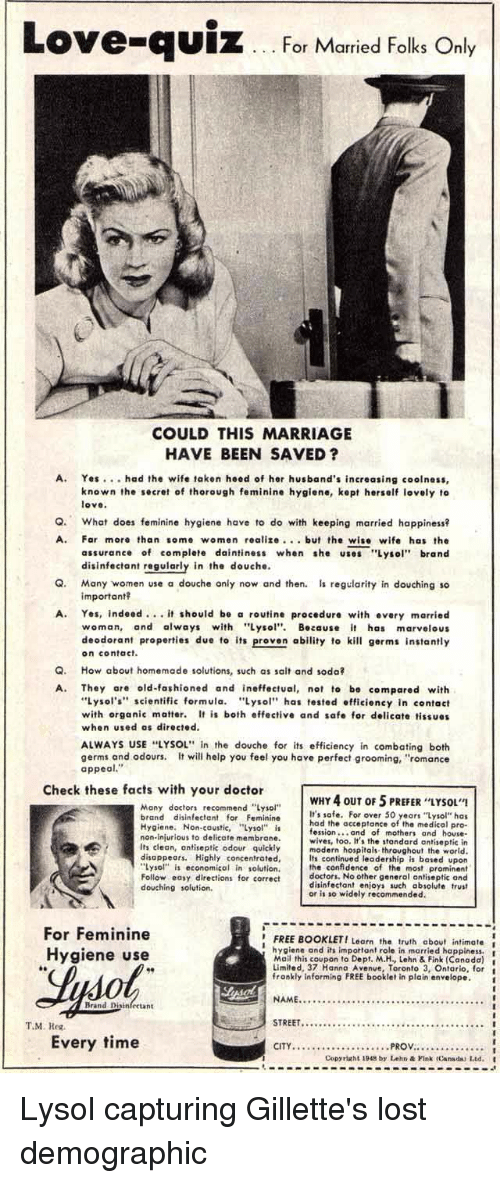 Love-qUiz for Married Folks Only COULD THIS MARRIAGE HAVE BEEN SAVED