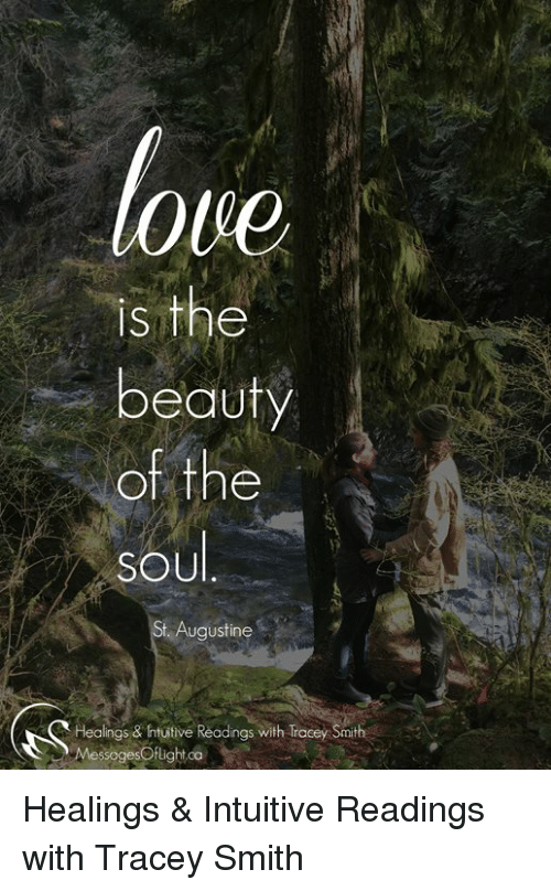 Love S The Beauty Of The Soul Augustine Healings Htuitive Readings
