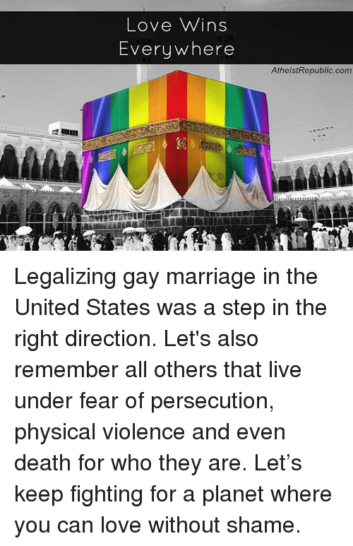 For Legalizing Gay Marriage 99
