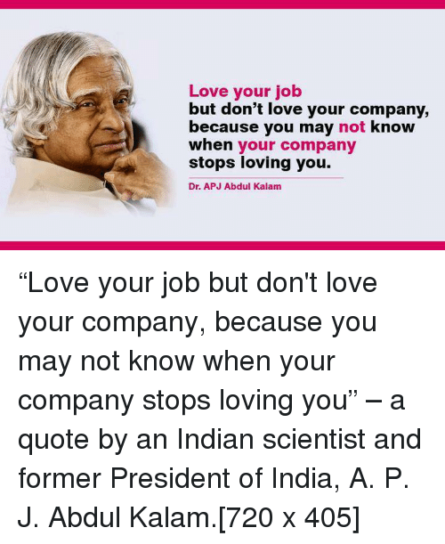 Love Your Job but Don\'t Love Your Company Because You May ...
