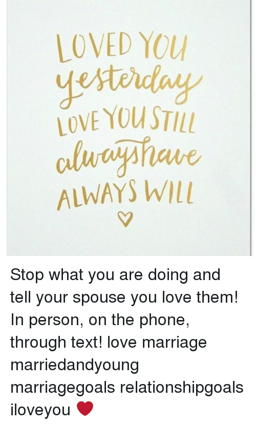 When you stop loving your spouse