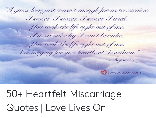Lovelivesoncom 50+ Heartfelt Miscarriage Quotes   Love Lives