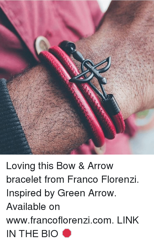 260b612eee0aa Loving This Bow & Arrow Bracelet From Franco Florenzi Inspired by ...
