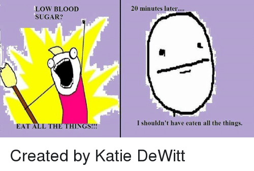 low blood sugar eat all the things 20 minutes later 481581 ✅ 25 best memes about emily blunt emily blunt memes
