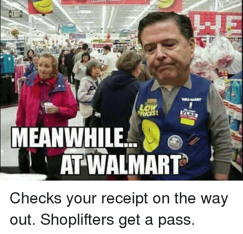 Low PRICES! MEANWHILE AT WALMART Checks Your Receipt on the
